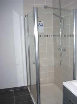 Installateur de douches lille for Modele de douche sans porte